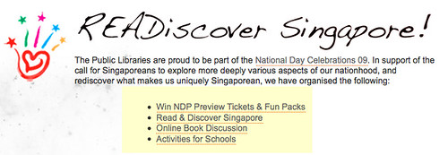Public Libraries Singapore - READiscover Singapore!