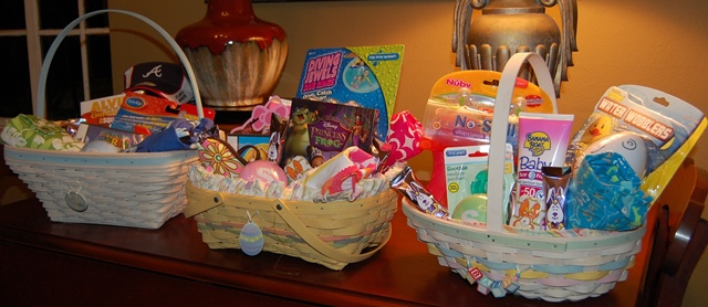 Easter Baskets 2010