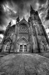 St Coleman's cathedral, Cobh, Co Cork, Ireland. (billy.moore35) Tags: ireland blackandwhite cobh cocork greatphotographers stcolemanscathedral blackwhitephotos handheldhdr mywinners sigma1224ex thebestofhdr canoneos5dmk11 blinkagain blinkagainfrontpage