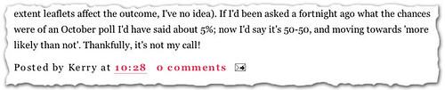 Kerry McCarthy MP - blog
