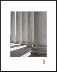 Thomas Jefferson Memorial (avirus) Tags: white dc washington jefferson column thomasjeffersonmemorial shadowl