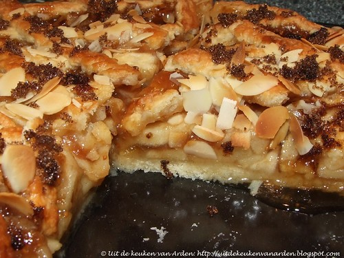 Crostata di Mela e Fichi / Appeltaart met vijgenjam / Apple Fig Pie