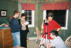 091_0017 (blue_william) Tags: film video classmates movies shooting projects sets walton shortfilms filmshooting studentfilms katechopin thestoryofanhour narrativeinfictionandfilm