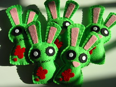 Invasion of undead bunnies!