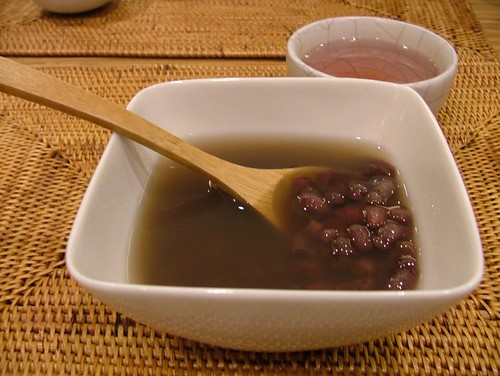 餐後甜點紅豆湯