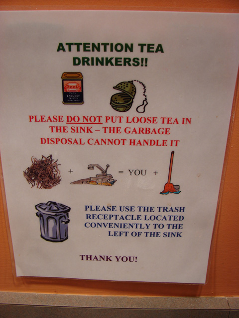 ATTENTION TEA DRINKERS!!