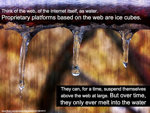 proprietary platforms are like ice cubes by lynetter, on Flickr