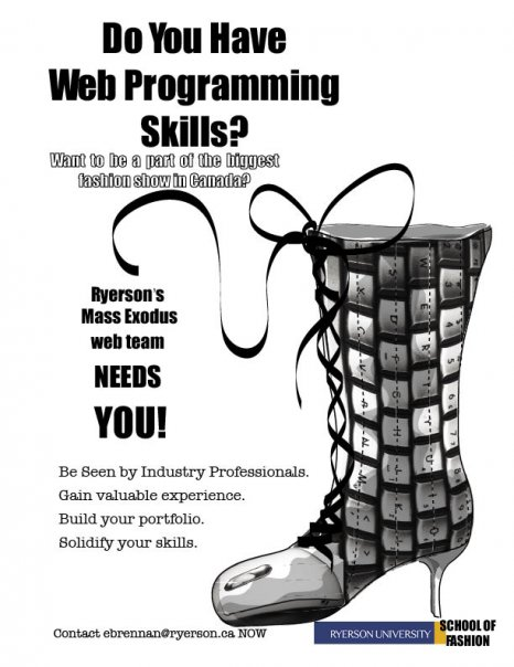 web programmer needed