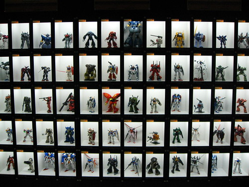 Gundam Robot Collection
