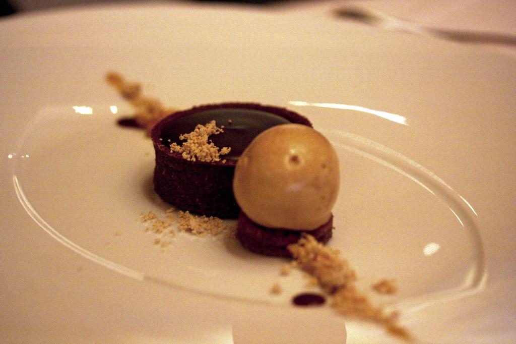 Ariel's dessert: Chocolate Peanut