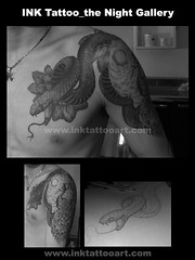 Tattoo_Black & tattoo(2007) - Snake (Apro Lee) Tags: tattoo snake