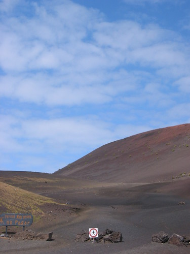 Don't walk on the volcano