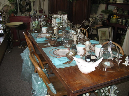 Bird Table Setting 2007