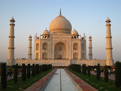 Taj+Mahal+at+sunset