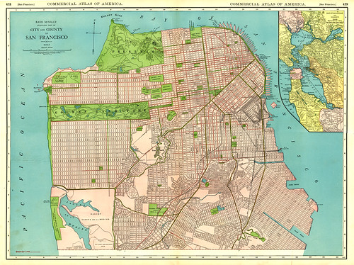 1925 San Francisco Street Map