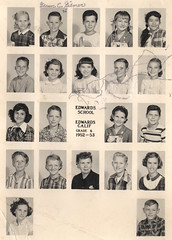 vintage: school class photos, 1952-1953 (deflam) Tags: school girls boys kids portraits vintage children group teens class 1950s grade6 1953 1952 gilmer edwardsairforcebase edwardsschool edwardscalifornia
