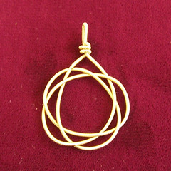Celtic Knot G-String Pendant