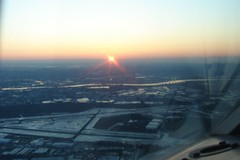 sunrise over Teterboro...
