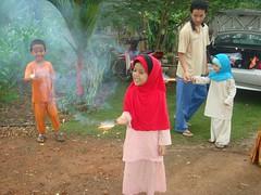 Main bunga api (NajihaNadia) Tags: raya aidilfitri 2007