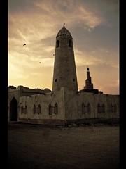 (| Rashid AlKuwari | Qatar) Tags: old masjid doha qatar rashid   alkuwari  lkuwari  algibib alqibib