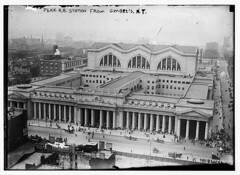 Penn. RR Station from Gimbel's N.Y. (LOC)