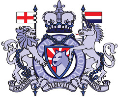 Stickers design... (LukeDaDuke) Tags: england dog chains flag lion royal flags chain adobe crown illustrator unicorn 2008 adhesivo autocollant adobeillustrator etiqueta cs3 foob  lukedaduke mmviii stickerdesign  autoadesivo