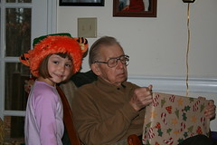 Sam and Great Boppa (soozq74) Tags: christmas family kids grandfather