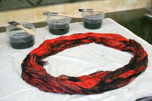 How To Dye Bamboo: Step 3