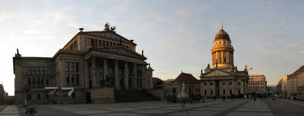 Konzerthaus Berlin (Concert Hall) and Französischer Dom (French Cathedrale)