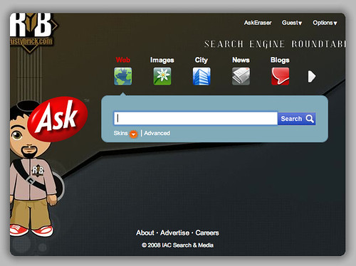 Custom Ask.com Home Pages