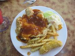 Chicken chop -Western Food- P.Tikus