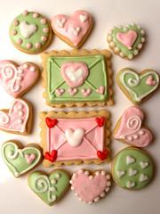 valentines cookies (nikkicookiebaker) Tags: cookies decorated