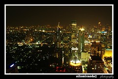 Bangkok Skyline (on2boy) Tags: skyline thailand nightshot bangkok olympus longshutter evolt e500 5photosaday cebusugbo flickrsbest mywinners on2boy betterthangood fpcpow032008 fpcpowwk102008