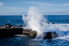 Breaking Wave, Tenerife (szeke) Tags: ocean blue color water rock landscape spain place wave tenerife canaryislands soe puertodelacruz breakingwave blueribbonwinner firstquality supershot abigfave platinumphoto anawesomeshot diamondclassphotographer theunforgettablepictures fiveflickrfavs betterthangood llovemypic natureselegantshots absolutelystunningscapes
