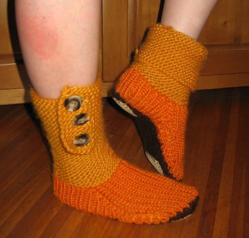 Prairie Boots by punk rawk purl.