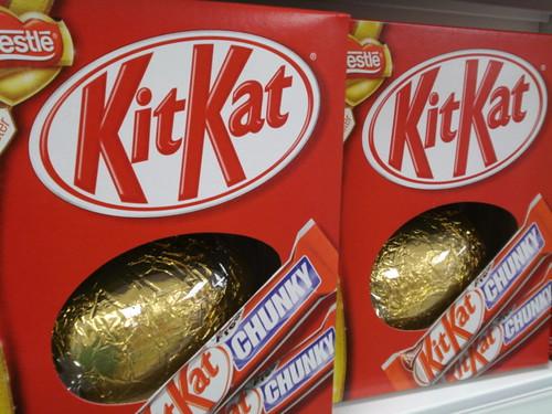 KitKat Chunky Eggs..