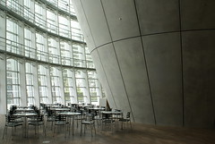 DSC01702 (hellothomas) Tags: japan concrete tokyo cafe curve kishokurokawa curtainwall nationalartcenter archidose