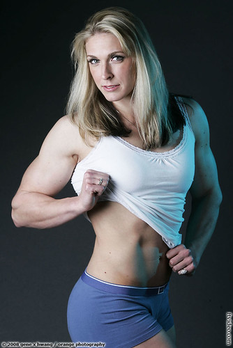 Shawna Walker Shows Abs For GeneX