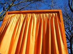 BJ500 The Gates NYC (listentoreason) Tags: newyorkcity orange usa newyork color america geotagged unitedstates centralpark favorites places olympus textiles christo thegates jeanneclaude score35 olympusc4040z c4040z