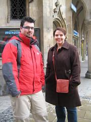 Jorge en Pamela in München