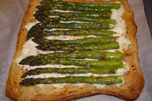 Asparagus and Goat Cheese Tart