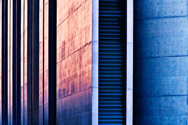 Sunset concrete