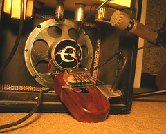 electric mbira (aaron fisher) Tags: electric tube piano amp thumb amplifier kalima mbira microphon