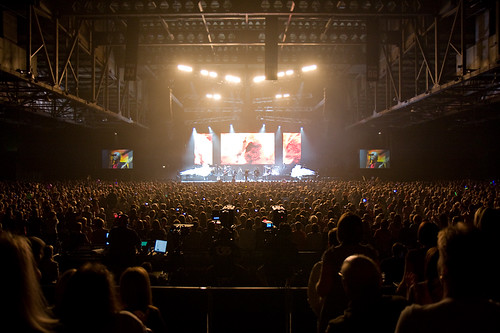 Osmonds playing the SECC in Glasgow, Scotland