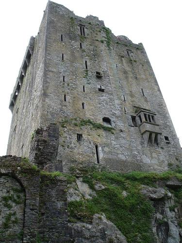 Blarney Castle looms overhead.