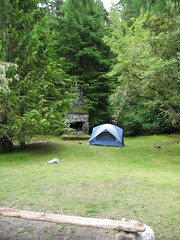 Campsite at Clarke Photo