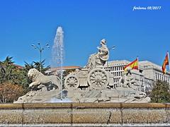 Madrid La Cibeles 20170219 (ferlomu) Tags: cibeles escultura estatua ferlomu fuente madrid