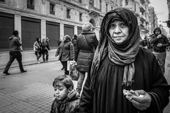 Granny (Mustafa Selcuk) Tags: wideangle xpro2 fujifilmtr fujifilm streetshooter streetphotography streetphotographer street bw bnw blackandwhite siyahbeyaz monochrome monochromatic turkey istanbul grandmother granny