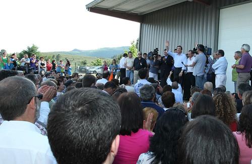 Pedro Passos Coelho visita Fábrica de Redes Euroredes em Boticas