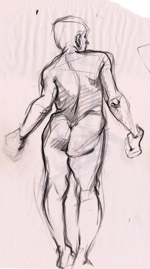 Life drawing - 5/29/2011